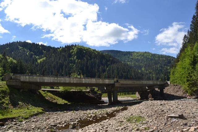 Міст через річку Теребля, що веде до с. Синевирська Поляна, цього року повністю відновлять