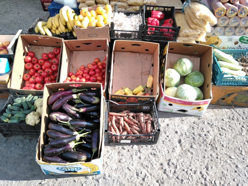 У Перечині перець подешевшав на 5 грн., баклажани – на дві гривні, а помідори й огірки подорожчали
